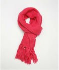 fashion girls red Knitted Scarf