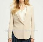 fashion designer jackets suits Silk One-Button Blazer ladies suits HK-052809