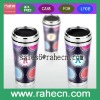 double wall stainless steel insert paper travel mug for promotion