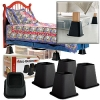 Bed Raiser of 4pcs per set of 6 inch ET-852044 AS SEEN ON TV furniture food stand for bed riser