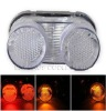 For Yamaha FZ1 01-05 YZF-R1 YZF R1 2000-2001 Clear LED Motorcycle Tail Light