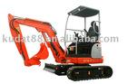 1.68ton excavator ZY16-8 /mini excavator