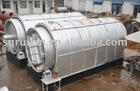 2012 bached waste tire recycling machine for oil with ISO9001