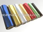 Metallic mirror or matt foils for hot stamping