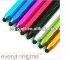 Aluminum alloy handwritten pen touch pen tablet capacitive touch pen touch up paint pen for iphone4 4s 3g ipad ipad2 pad3