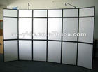 Metal folding screen