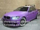purple car color changing PVC vinyl film, AIR bubbles free, 1.52*30