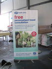 Standard roll up banner stand