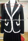 black ladies' suits fashion clothes lady suits for work