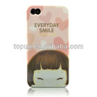 lovely PC case for iphone 4 and iphone 4S