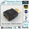 HS-204,HDMI male to HDMI female Adapter,HDMI adapter