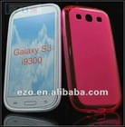 Free shipping Fashion Series matte TPU Case Cover for Samsung Galaxy S3 I9300