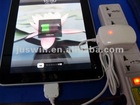 Charger for Ipad 2 3 and for Iphone 3 3G 3Gs 4 4G 4S for Ipod Nano for Touch usb car charger accept paypal