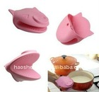 fashion colorful oven silicone glove for sales promotion