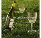 Lawn/Sand Beach Outdoor Wine Holder