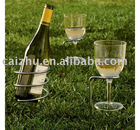 Lawn/Sand Beach Outdoor Wine Holder