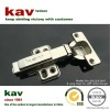full overlay 35mm cup 2 way clip on soft close hinge for cabinet