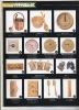 Support sauna accessories-waterproof wooden clock