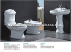 bathroom ceramic sanitary ware sets for the hotel design toilet in white color