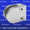 handrail glass bracket glass clamp