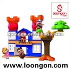 LOONGON children plastic building blocks GG Bond licensed
