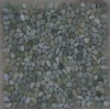 green cobble tile/pebble mosaic/pebble tile