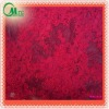 Beautiful red embroidery beaded lace fabric
