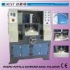 Horizontal Round Plexiglass Diamond Edge Polishing Machine