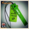 PVC plastic hang tags