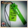 PVC plastic hang tags