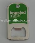 custom bottle opener with plating nickel and baking finish