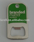 custom bottle opener with plating nickel and baking finish