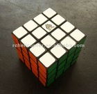 Type C TC Mini 4x4x4 444 4x4 Magic Cube Puzzle Cube Black/White (46MM)