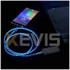 Visible Blue Light LED USB Charger Data Cable for Samsung Galaxy S3 I9300 S2 I9100 Note 2 N7100 Micro USB Phone