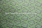 knitted eyelet lace fabric