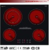 4 heating plate High quality digital induction cooker Electric Ceramic Cooker