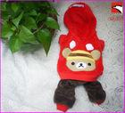 winter pet dog apparel / overalls clothes / clothing / coat