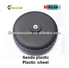 Customzied.HDPE blow plastic plastic toy car wheel