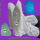 disposable LDPE/CPE boot cover with dual sole