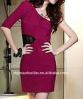 casual fashion dress for lady high quality(hld036)