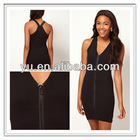 Girls Dress With Zip Front