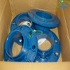 bule Ductile Iron grooved fitting with cheap price and high quality