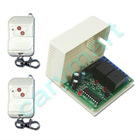 10 Amp Each Channel 2 Channel AC12V 24V RF Wireless Remote Switch Transmitter and Receiver Momentary Unlock Control Mode
