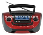 Portable Boombox Radio with USB SD Slot