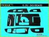 Carbon Dash kit / Carbon Dashboard for LEXUS IS250