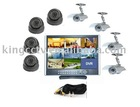 DVR kit: 8 Cameras LCD DVR Security System(DIY Kit)