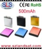500mAH Super-thin Battery Charger for iphone, ipad,ipod,blackberry,PSP and etc., SLS-P13