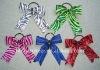 Glitter zebra hair bow