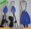 """1/8"""" HVAC Ventilation Fan Rope Ratchet Hanger -- Blue Color"""