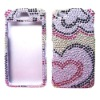 bling diamond cell phone case for iphone4g
